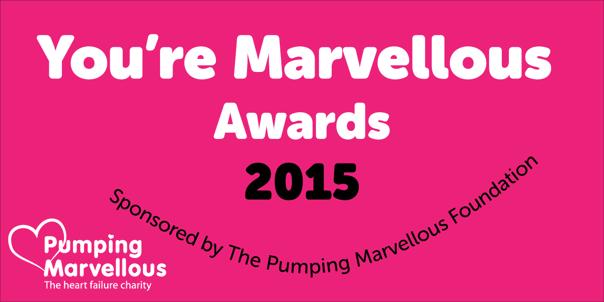 Pumping Marvellous announce the winners of You're Marvellous 2015