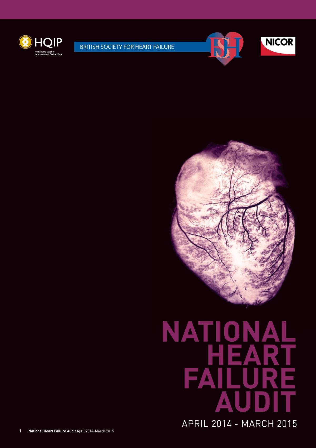 National Heart Failure Audit 2014-15