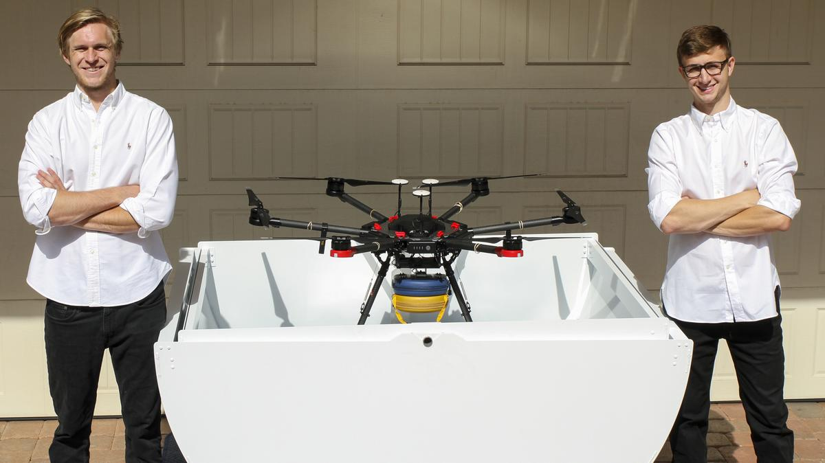 AED Drone Delivery Service in Florida. Archer First Responders