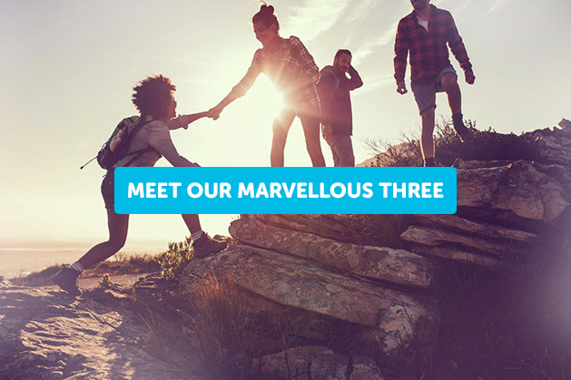 Meet Our Marvellous Three