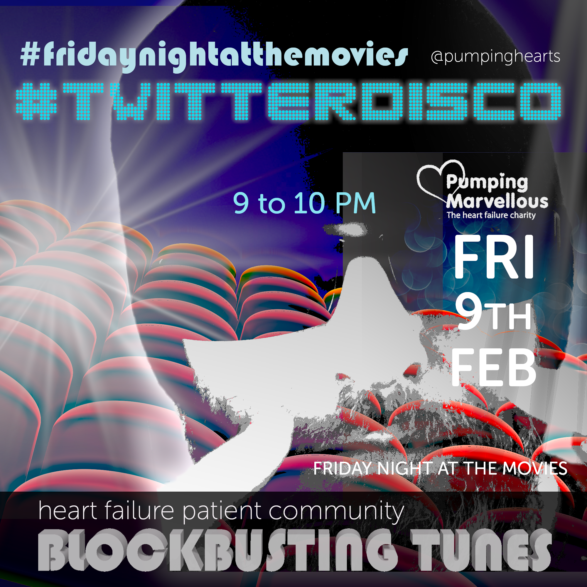 Twitter Disco is back for heart month