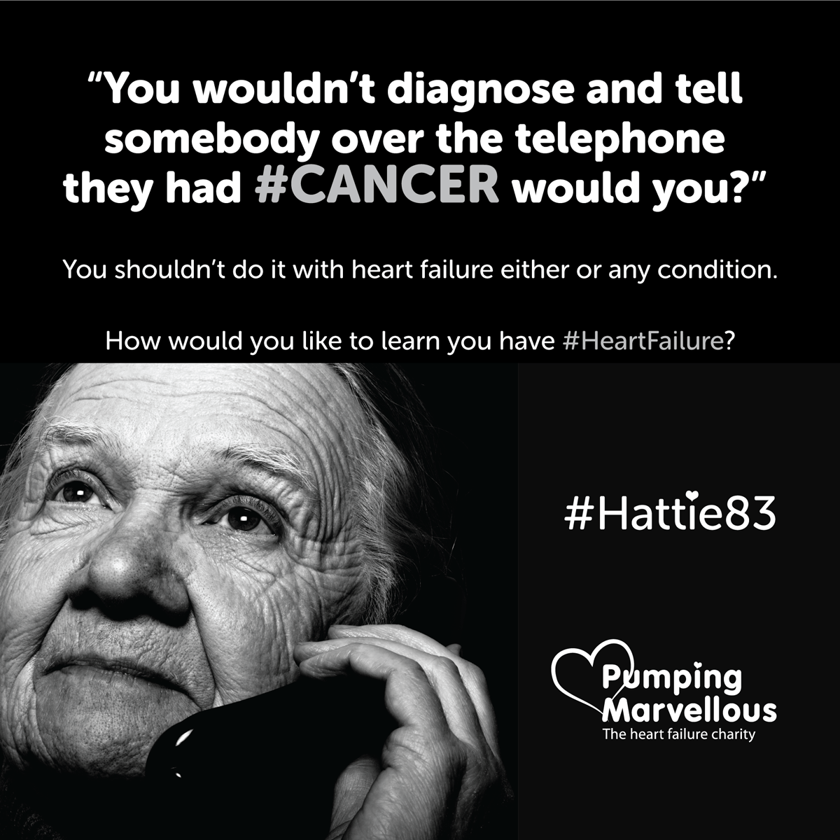 Heart Failure Diagnosis #Hattie83