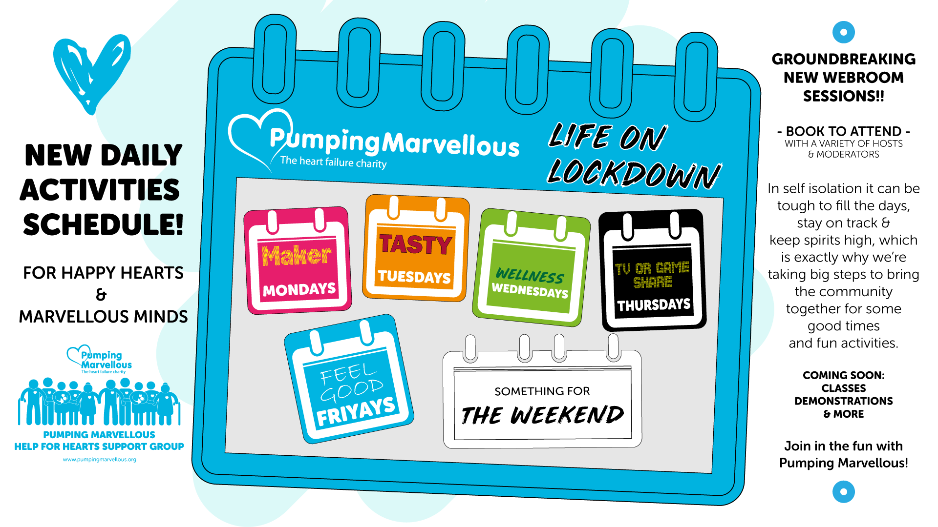Life on Lockdown with Pumping Marvellous
